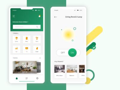 Smarthome App - Redesign