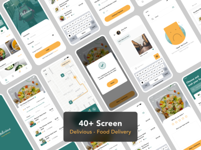 Delivious - Food Delivery UI-Kit