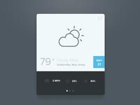 SimpL Weather Widget [PSD]