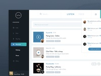 Music Player App: Feed