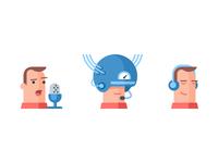 Icon set for LinguaLeo