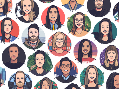 SeatGeek — Employee Portraits portrait avatar people face
