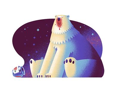 Polar Jam procreate polar bear