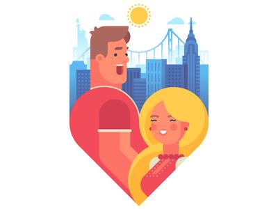How you doin'? golden gate sun building city heart love character bridge skyscraper usa ukranian russian