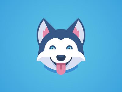 Trello Explorations husky animal brand development branding animation character dog logo mascot trello taco motion authors