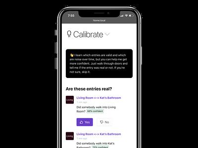 Calibrate Hiome hiome prototype screenshot