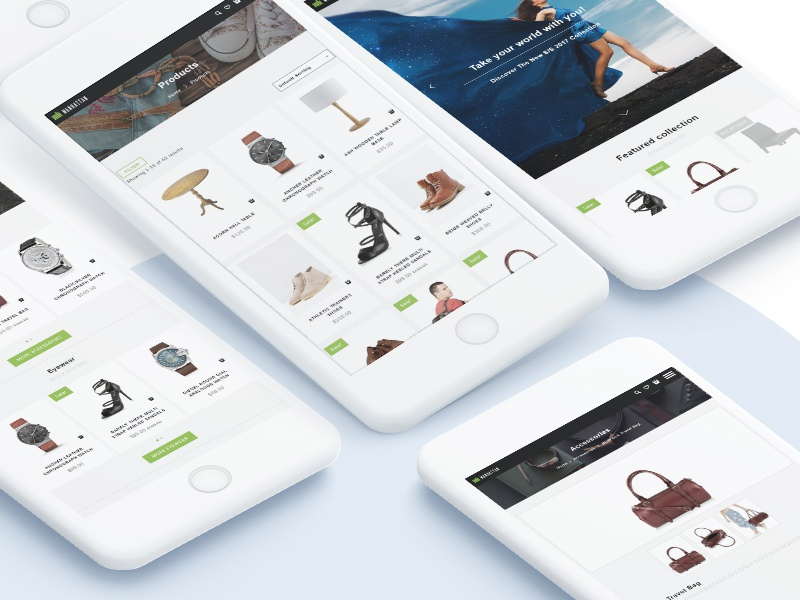Manhattan Shopify Theme By Hulkcode Dribbble Dribbble
