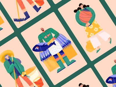 Character illustration illustration character design