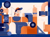 illustration #Graphics practice