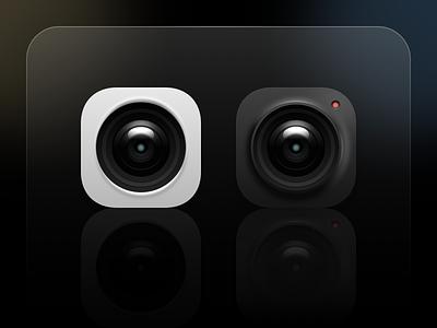 相机主题图标 branding icon design ui