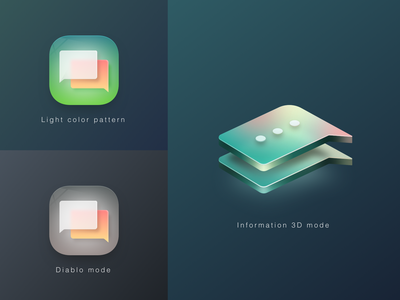 Theme Icon Display branding icon design ui
