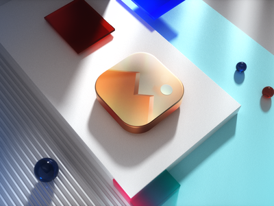 Icon Scene app vector illustration typography logo ux branding icon design ui
