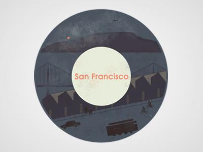 WIP - San Francisco illustration design vibes digital sanfrancisco