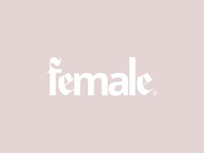 Fe—1 fashion empower women logotype logo