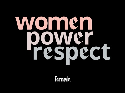 Fe—2 empower fashion women logotype logo