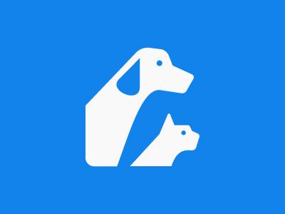 Unused animal logo icon vet vibes