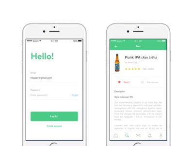 Hopper Beer App