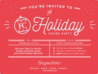 Fast Company Holiday Party Invite