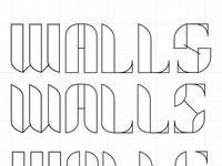 Walls lettering WIP