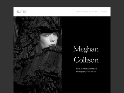 Editorial Layout Design cover editorial layout suited magazine