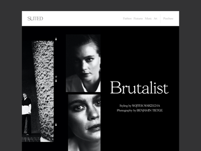 Editorial Layout Design suited magazine editorial layout cover