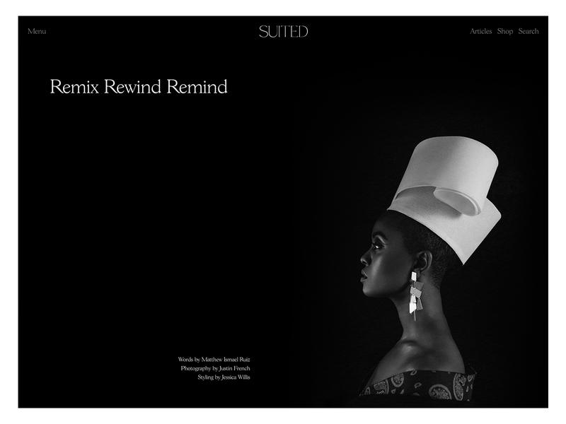 Suited Magazine Issue No.7 – Kelela content black and white wordpress cms publishing editorial layout