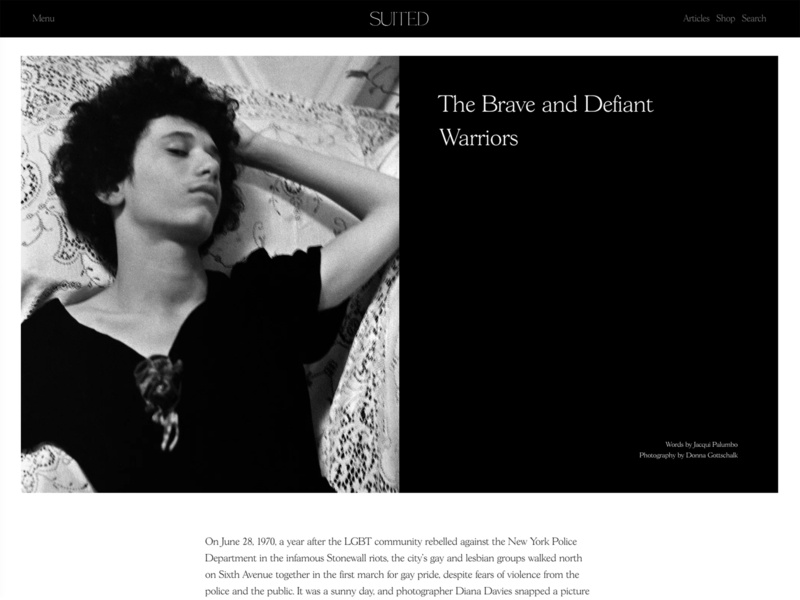 Suited Magazine Issue No.7 – The Brave and Defiant Warriors black and white content magazine layout design suited magazine editorial layout