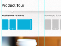 Work in Progress: Product Tour Page