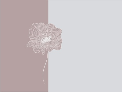 Flower illustration line art flower illustration flower feminine illustration design flat vector minimal