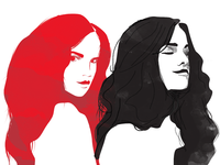 Haircare Illustrations