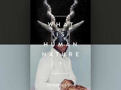 Interface // Human Nature Print