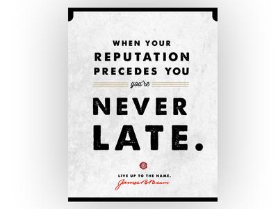 Jim Beam // Reputation