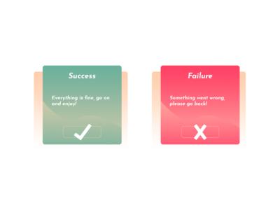 Flash Message (Error/Success) - Daily UI 11