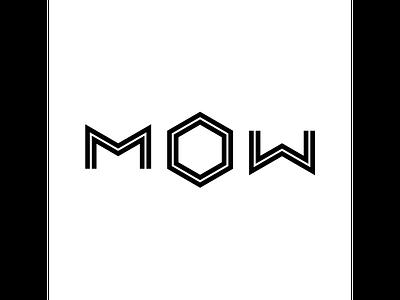 MOW type typo inspiration graphicdesign branding creative modern design typography logo