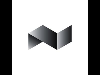 N typography typo type modern logo font design creative art alphabet