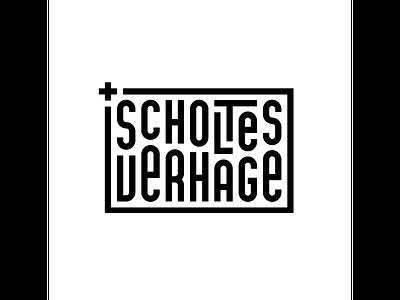 Scholtes Verhage typography typo type modern logo font design creative art alphabet