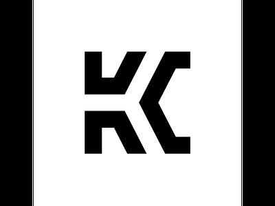 KC typography typo type modern logo font design creative art alphabet
