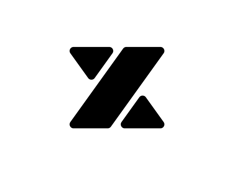 X typography typo type modern logo font design creative art alphabet