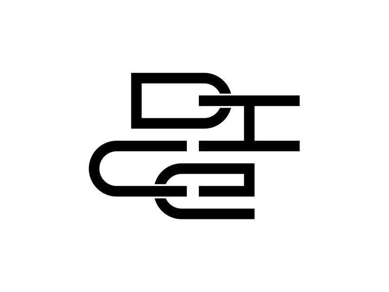 DICE illustration modern art minimal inspiration lettering icon branding graphicdesign typo type design vector typography logo font