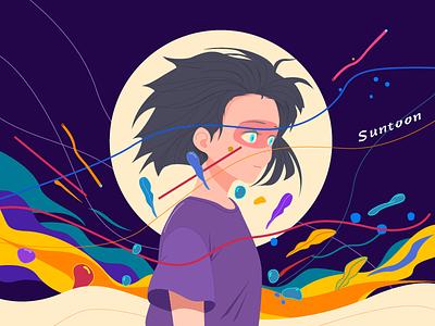 Freak World-4 pattern illustrator