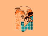Cowboy Badge