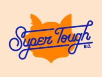 Super Tough Baddies Club Lettering