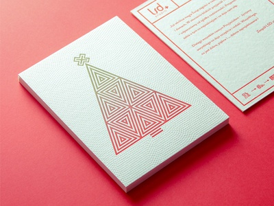 Marry Christmas exclusive postcard beauty simple christmas post-card gradient icons letterpress prinr