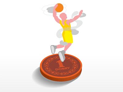basketball player illustrations