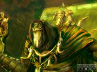 Digital Painting of Gul Dan from World of Warcraft - Fan Art