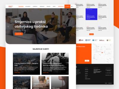 Medical Multi Website + Web App