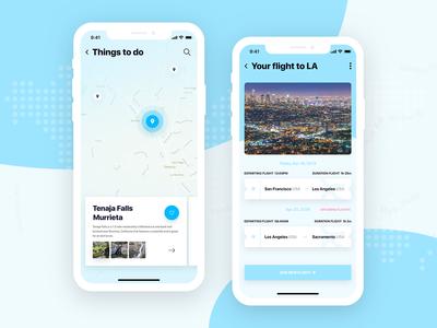 Vacation Friend - Mobile Application Design