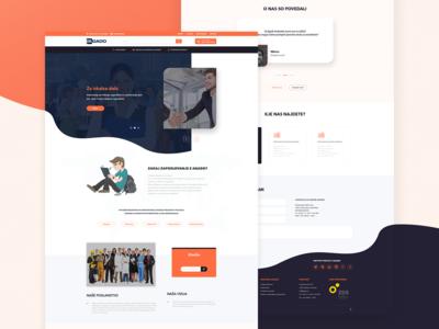 Staffing Agency - Website Responsive Concept 📚
