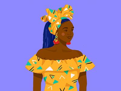 Everyone is beautiful color sketch design girl illustartor illustration character races