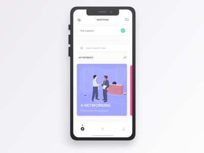 Givme - HomePage tips personal illustration development mobileapp experience evolution ux user experience ui prototyping navigation intuitive interactive graphic digital design app